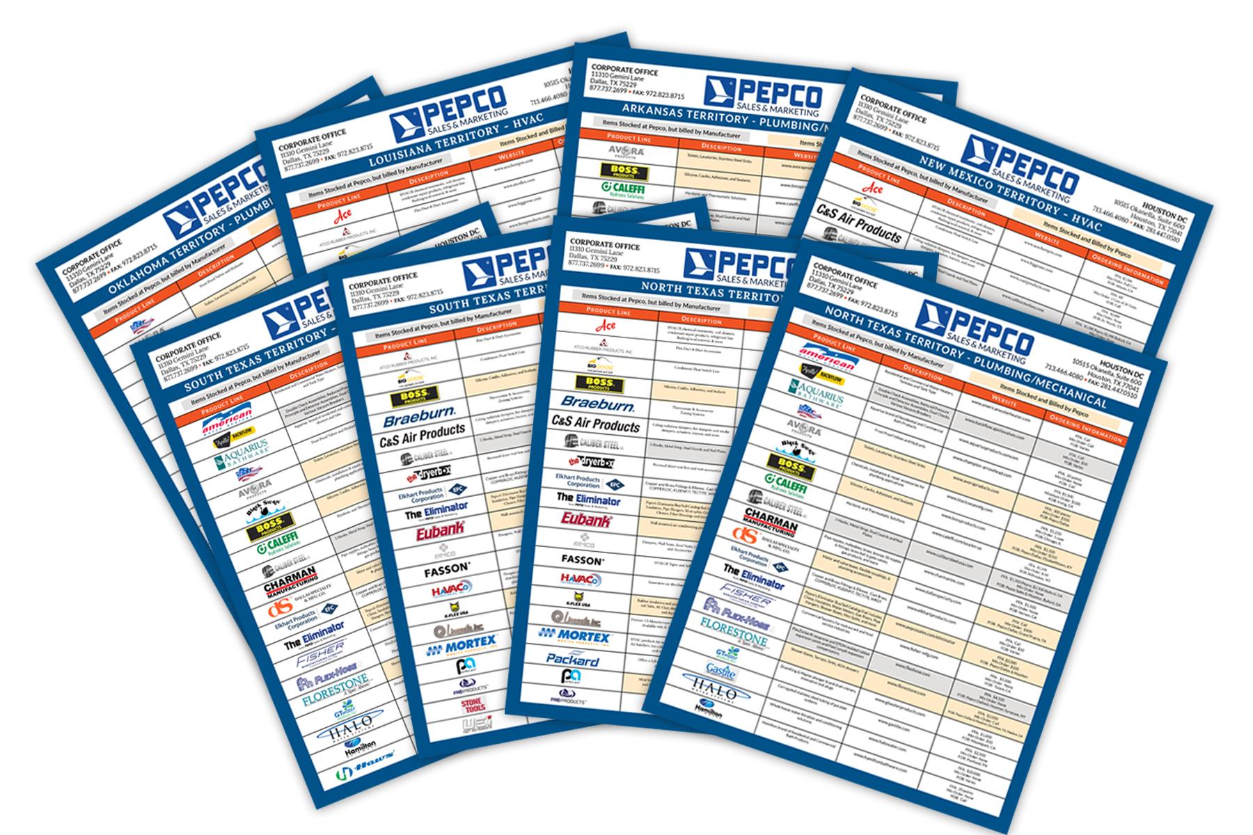 Pepco Line Card Graphic