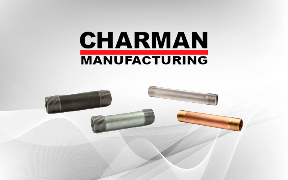 Charman Manufacturing – Has Pipe Nipples In-Stock