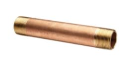Red Brass Pipe Nipples