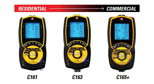 Combustion Analyzers from UEi